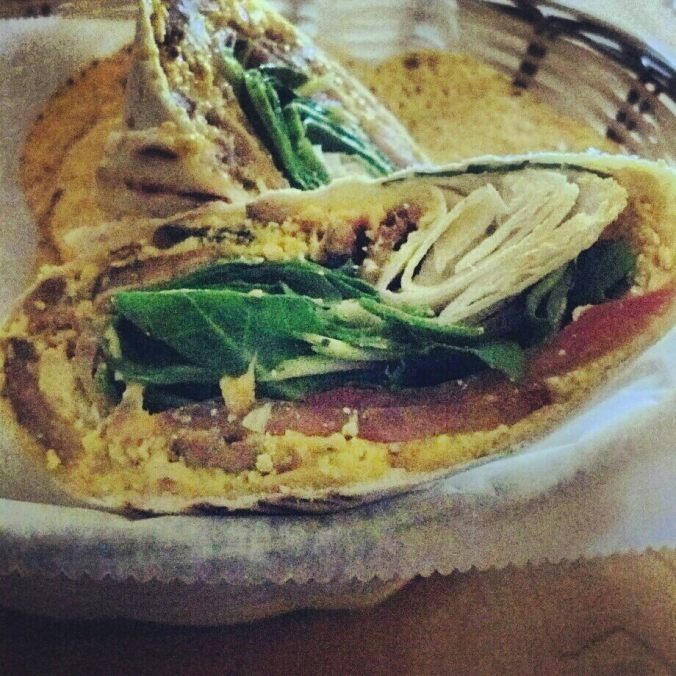 Tofu scram wrap from Fuel. I want it again, right now.