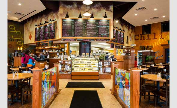 Inside Dog Lane cafe (picture stolen from the webz)